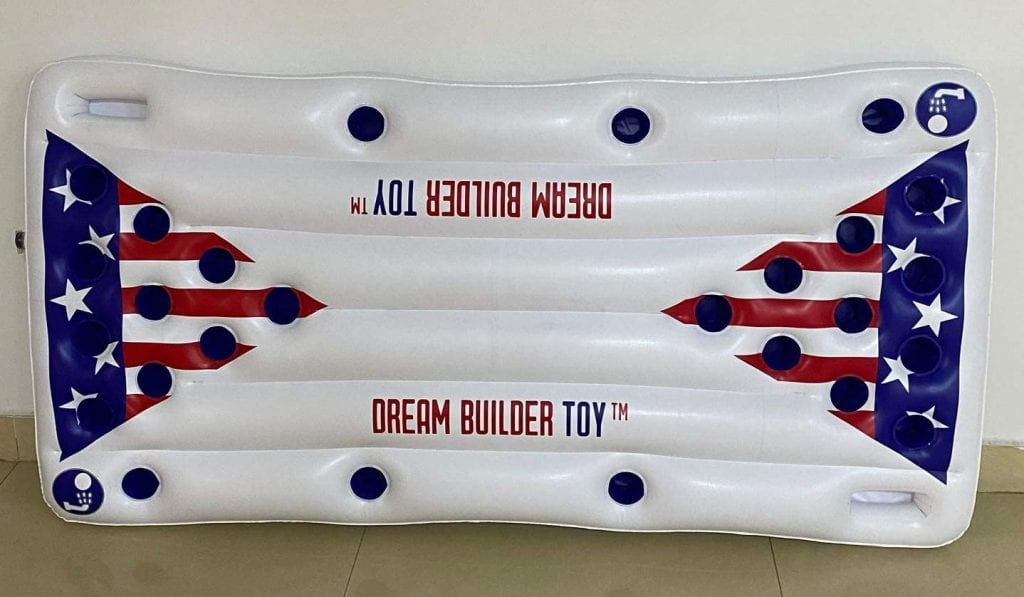 Dreambuilder Toy Inflatable Pool Party Barge