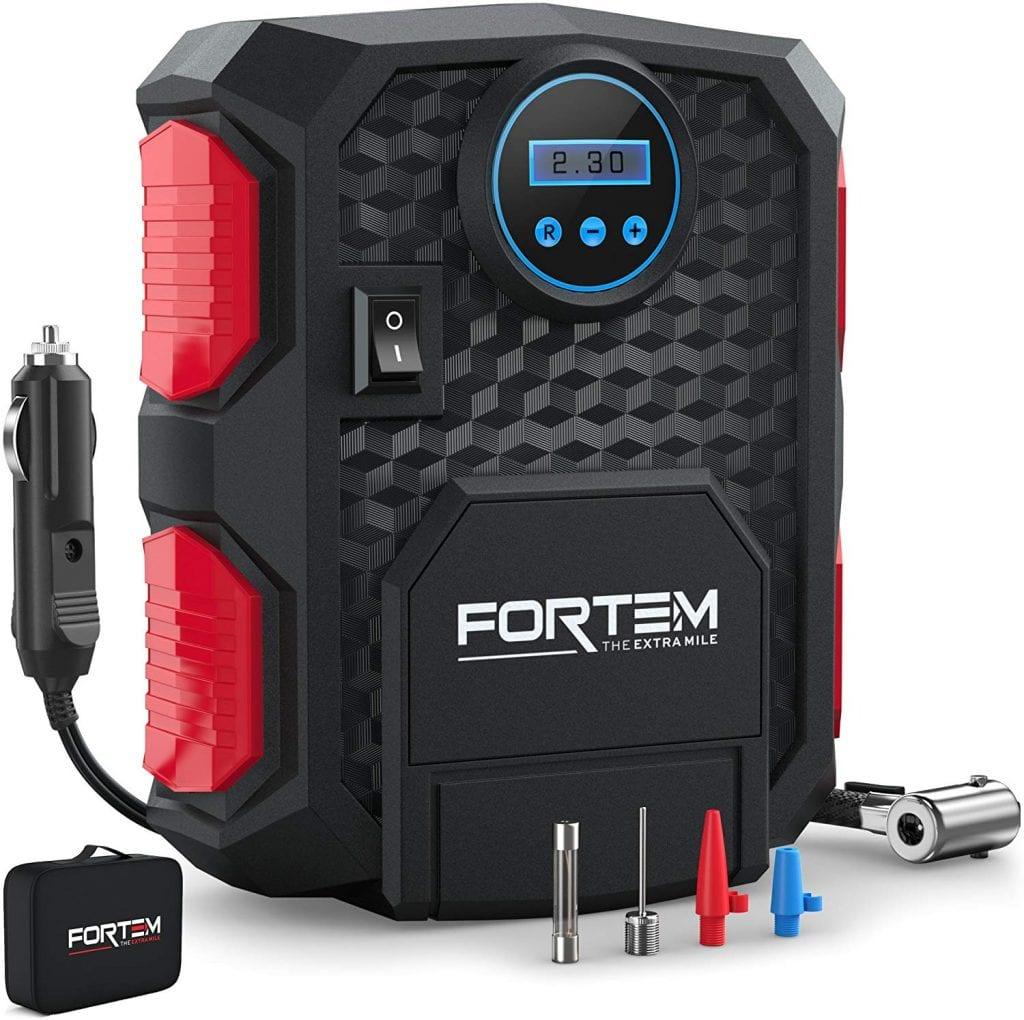 FORTEM Digital Tire Inflator with gauge