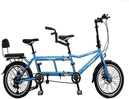 GENERIC Portable Folding Tandem Bicycle