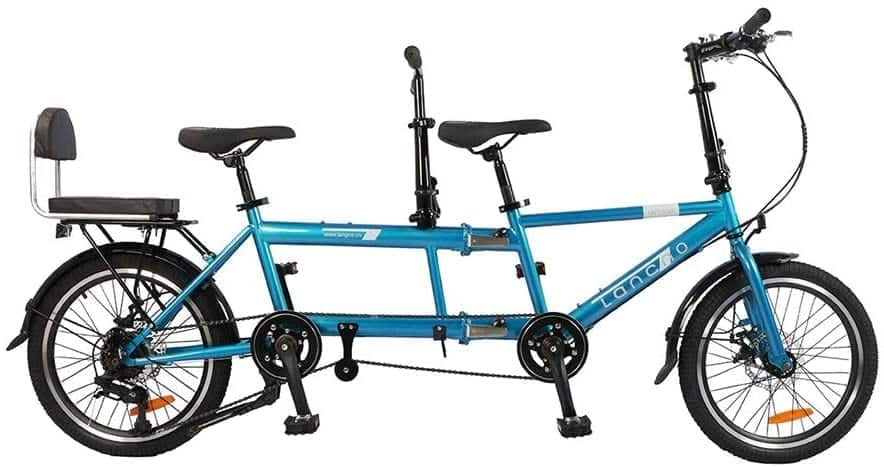 HAGUOHE City Tandem Bike