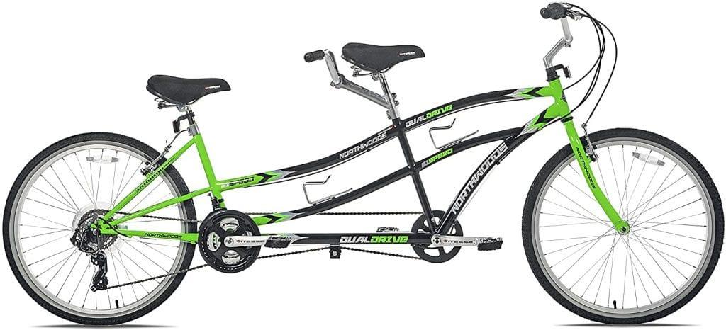 Kent Northwoods Dual Drive Tandem Bike 26 inch
