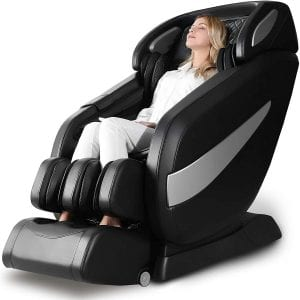 OWAYS Gravity Zero Full Body Stretching Yoga Foot Rolling Massage Chair