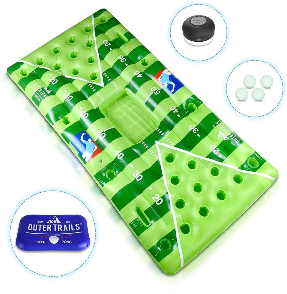 Outer Trails Inflatable Beer Pong Table