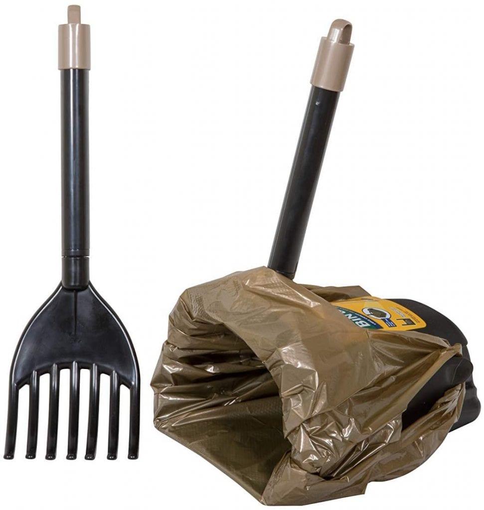 Petmate Swivel & Hammer One size Black Poop Scooper