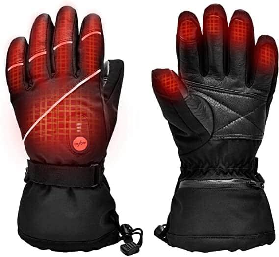 Snow Deer Electric Ski Motorcycle Snow Mitten Glove Arthritis