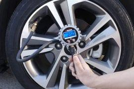 Tire Inflators With Gauge