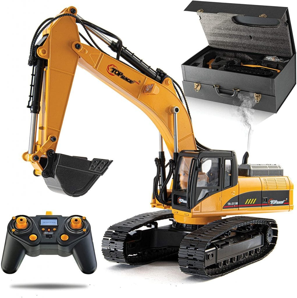 Top Race 23 Channel Hobby Remote Control Excavator