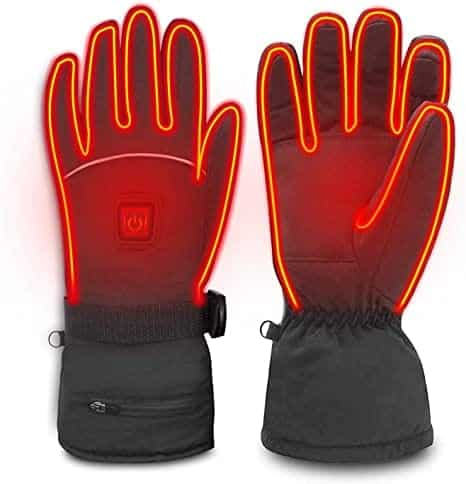 WAMTHUS Electric Heated Gloves for Men Women