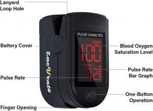 Zacurate Fingertip Oximeter