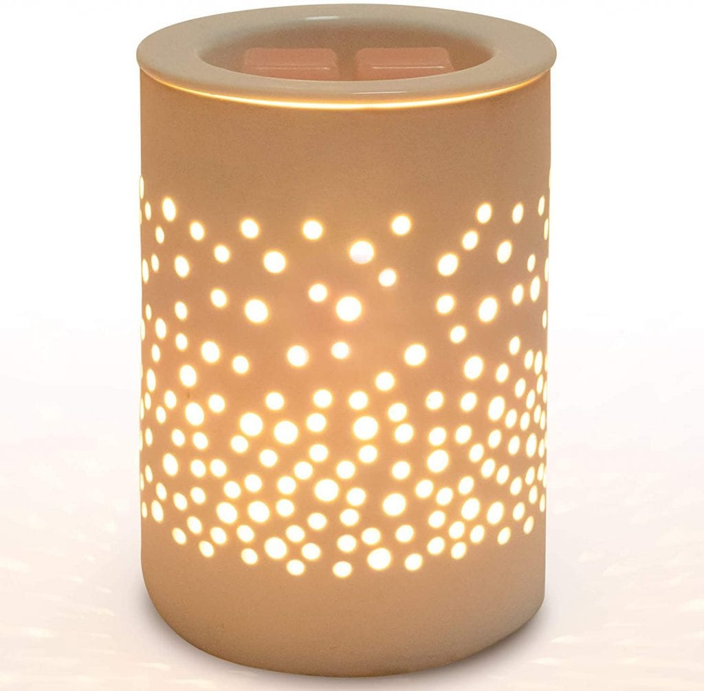 Bobolyn Melt Waxing Cube Fragrance Ceramic Candle Warmer