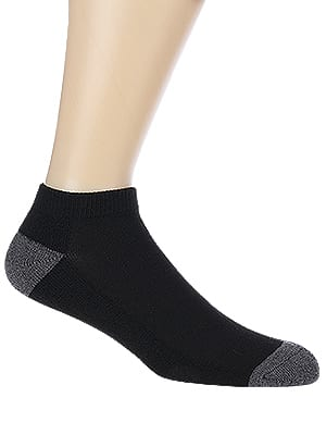 COOVAN Men's Cushion 10 Pairs of Ankle Socks Men