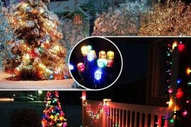 Christmas String Lights For Outdoors