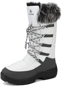 DREAM PAIRS Women's Winter Boots Mid - Calf Faux Fur - Lined