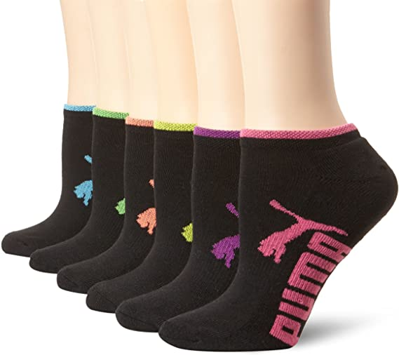 PUMA Women's Runner Socks 6 Pack