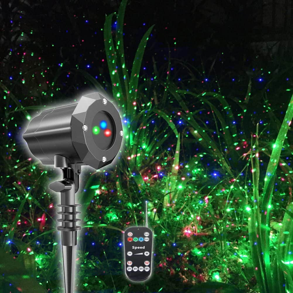 Poeland Moving RGB Model Christmas Light Projector