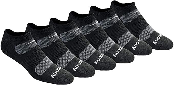 Saucony Multi-pack Mesh Ventilating Men's Comfort Socks
