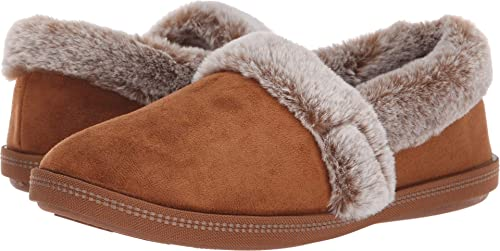 Skechers Faux Fur Lining Women's Cozy  Microfiber Slipper