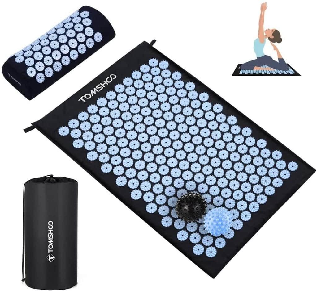 TOMSHOO Acupressure Set with 2 Massage Balls