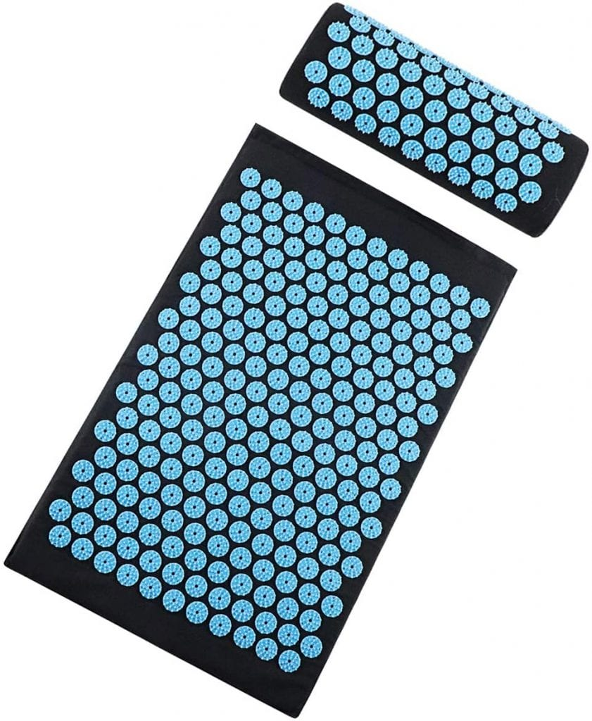 TOPNEW Acupressure Mat and Pillow for Full Body Massage