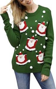 Viottiset Women's Ugly Christmas Sweater