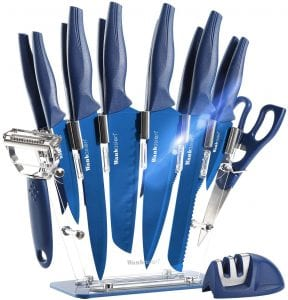 Wanbasion 16 Pieces Kitchen Knife Set