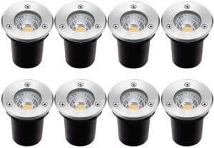 ZUCKEO Recessed Deck Lights