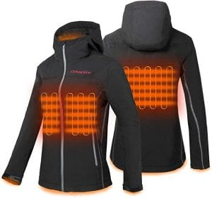 CONQUECO Heated Winter Jacket for Women