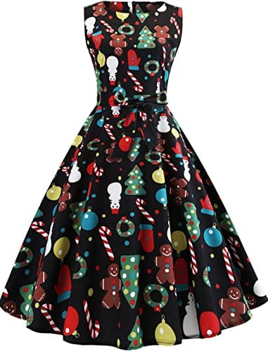 Camlinbo Christmas Cocktail Dresses