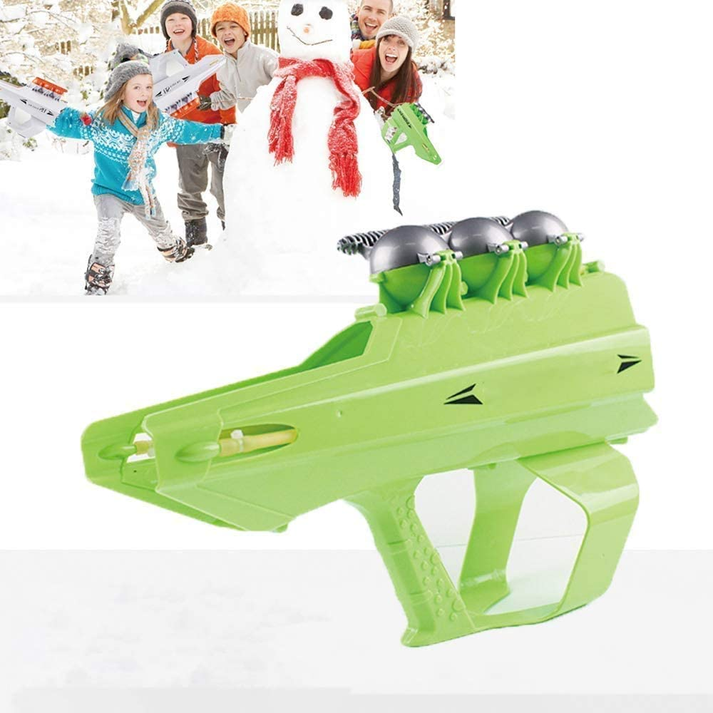 Diandou Outdoor 2 –In – 1 Snowball Fight Toy Game For Adults & Kids
