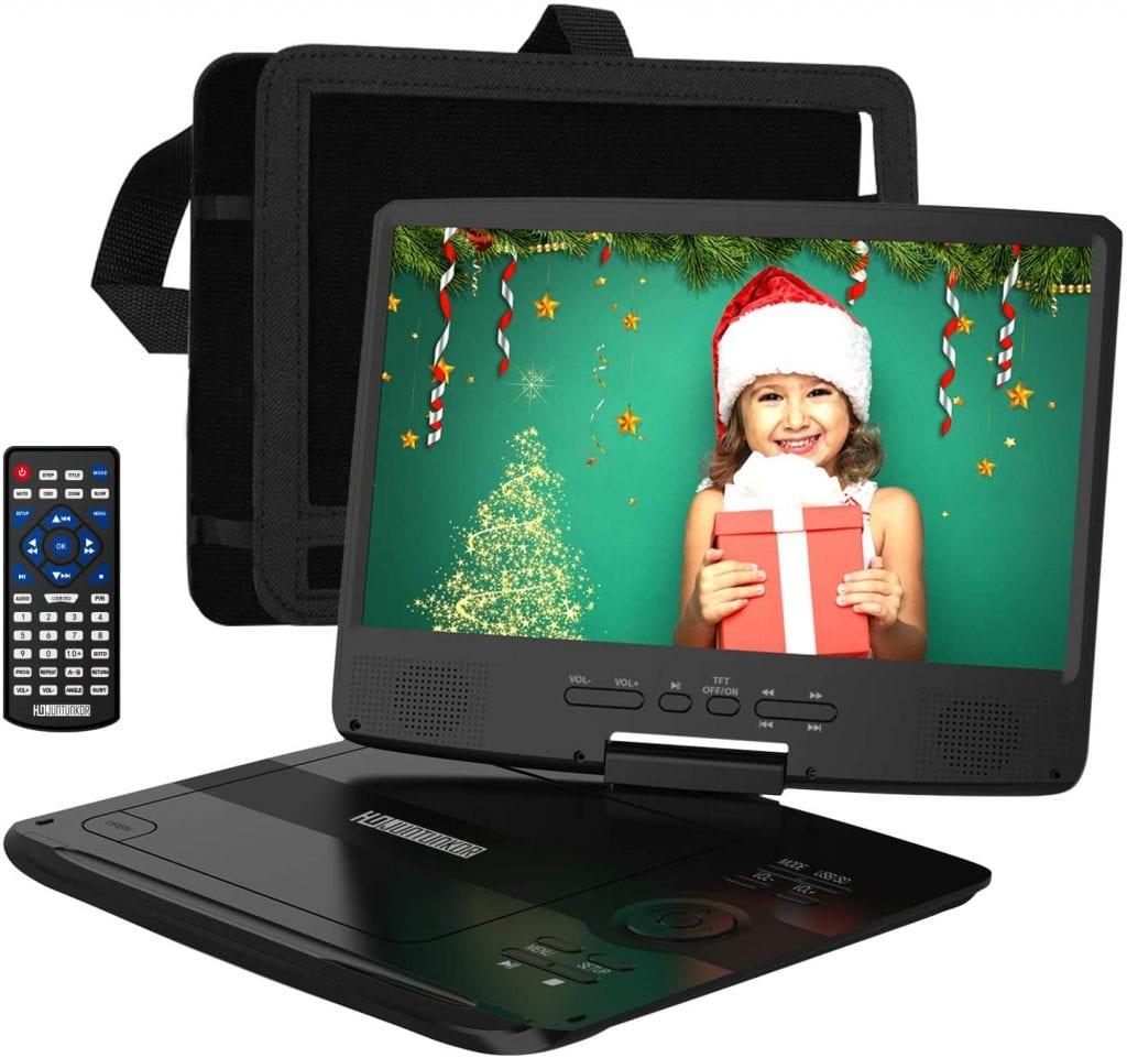 HDJUNTUNKOR Flat DVD Player for Car Headrests