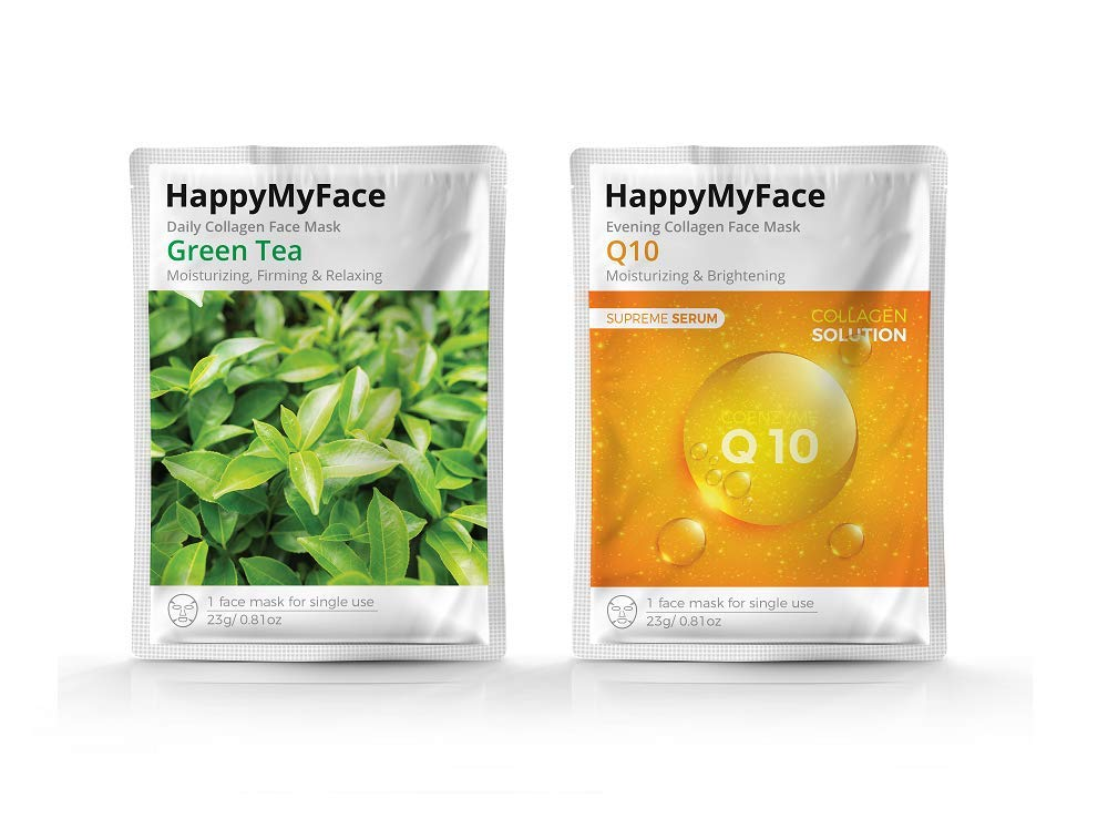HappyFace Serum Deep Hydrating Pack Anti-aging Collagen Face Mask