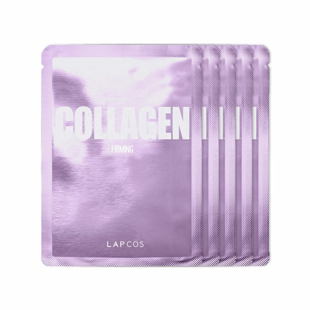 LAPCOS Dark Spot Removing Daily Mask Peptides Collagen Face Sheet