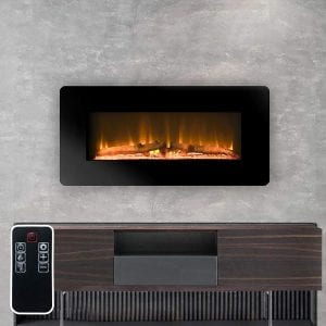 LOKATSE HOME Wall Mounted Electric Fireplace