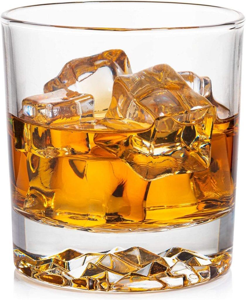Obsidian Glassware Imprint Classy Premium Design 4 Set Glass For Whiskey