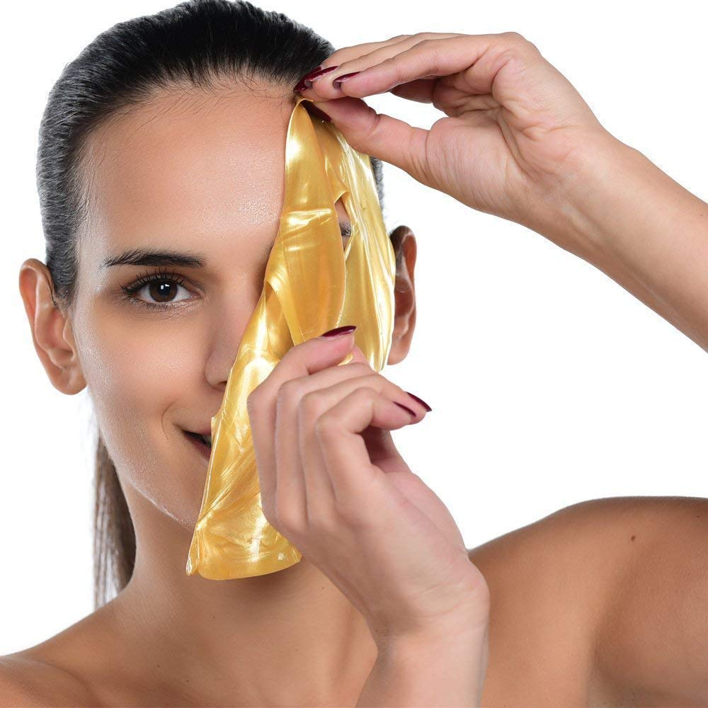 Permotary 24K Gel Gold Deep Hydrating Collagen Skin Care Mask