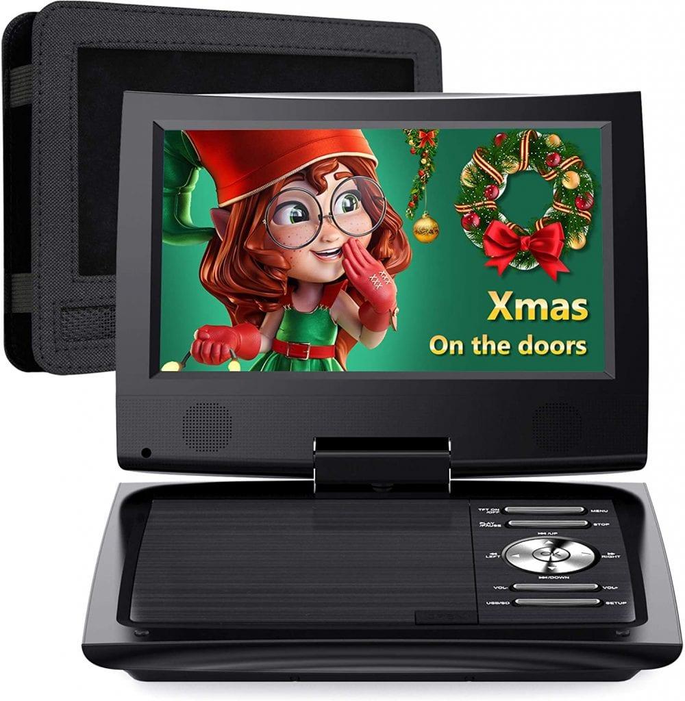 SUNPIN 11'' Screen Car Headrest DVD Player