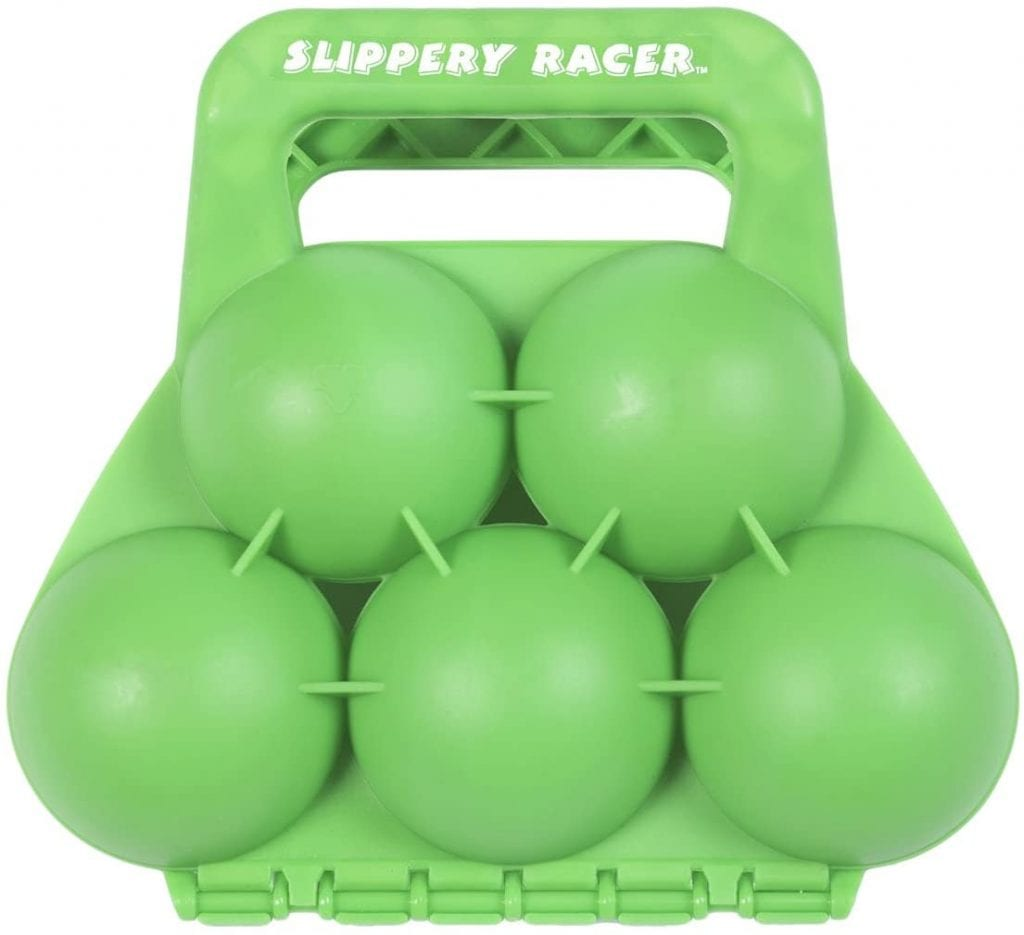 Slippery Racer Green Toy Snowball Maker 5 IN 1 Piece