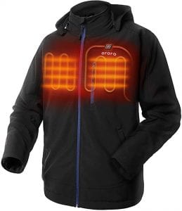 Soft Shell Heated Jacket with USB-Charger