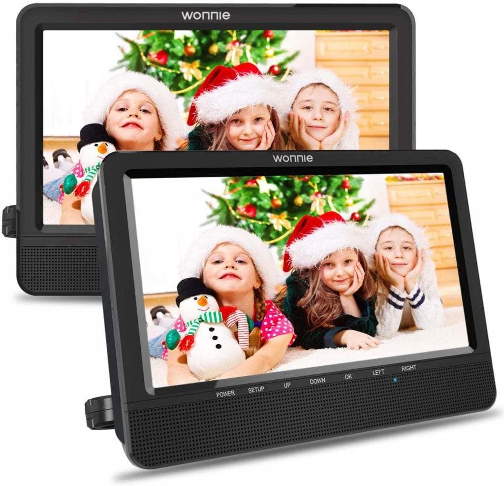 WONNIE 10.5'' DVD Player for Kids